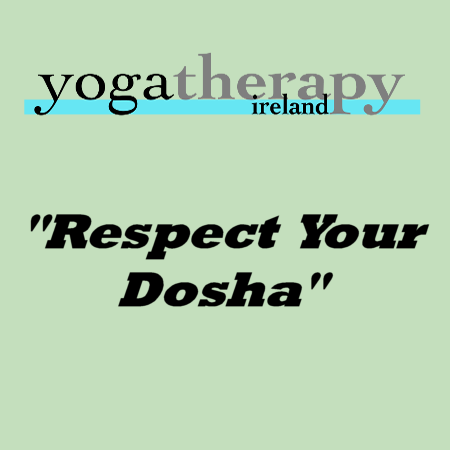 Respect your dosha and lead a balanced life.